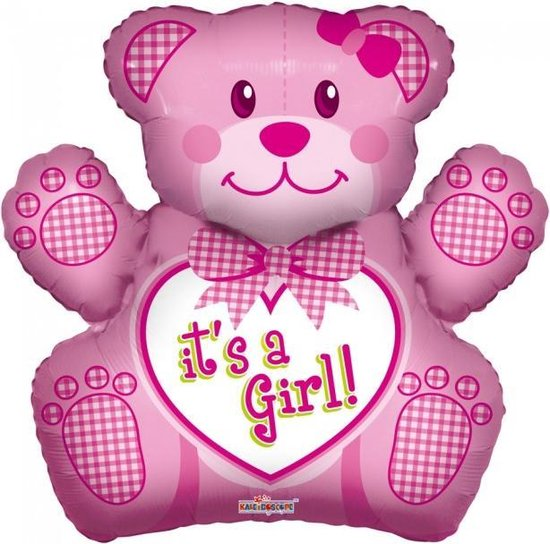 Ballonnenpakket Geboorte meisje