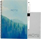 MOYU Ringband A5 | Misty Mountain | Uitwisbaar & herschrijfbaar notitieboek