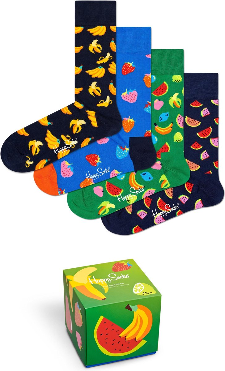 Happy Socks Gift Box 4P - Maat 41-46