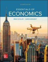 Boek cover ISE Essentials of Economics van Schiller