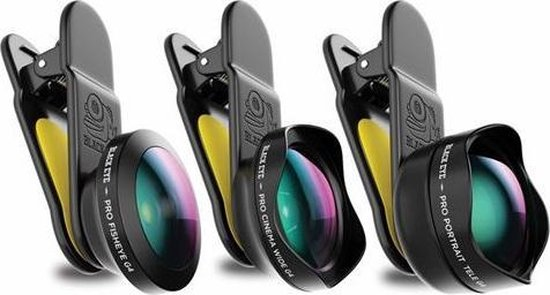 Black Eye Pro Kit G4 - Smartphone Lenzen