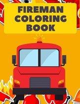 Fireman Coloring Book