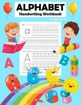 Alphabet Handwriting Workbook For Kids 3+