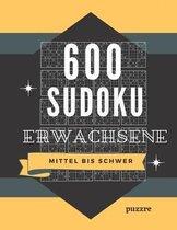 600 Sudoku Erwachsene Mittel Bis Schwer