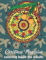 Christmas Mandalas coloring book for adults