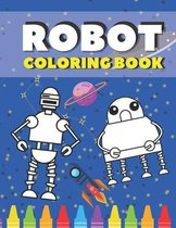 Robot Coloring Book