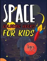 Space Coloring Books For Kids Ages 4-8