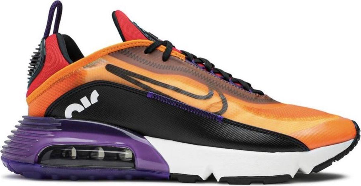 NIKE AIR MAX 2090 (CJ4066 800) Orange Black - Dames maat 38
