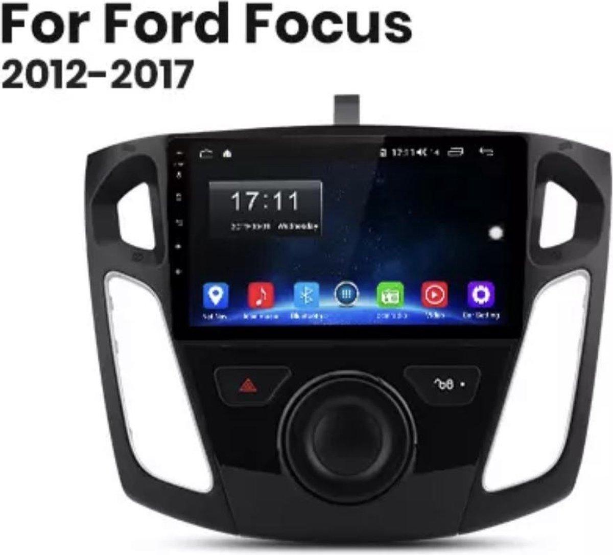 gratis camera!! Ford Focus 2012-2017 Android 10 1+16GB navigatie en multimediasysteem