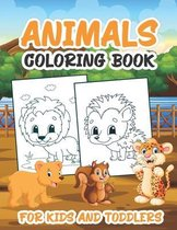 Animals Coloring Book For Kids and Toddlers
