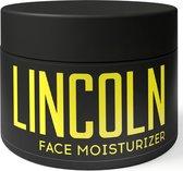 LINCOLN Dagcrème - Gezichtscrème Mannen | Anti Aging Crème met natuurlijk Hyaluronzuur, Moisturizer, Anti Rimpel Creme - 100ml