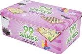 Creartix - 99 Games - Spellendoos - Reisspellen - 99 verschillende spellen in 1 doos