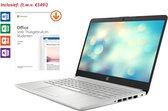 HP 14 inch Laptop - AMD Ryzen 3 - 4GB RAM - 128GB SSD - tijdelijk met GRATIS Office 2019 Home & Student 2019 t.w.v. €149!