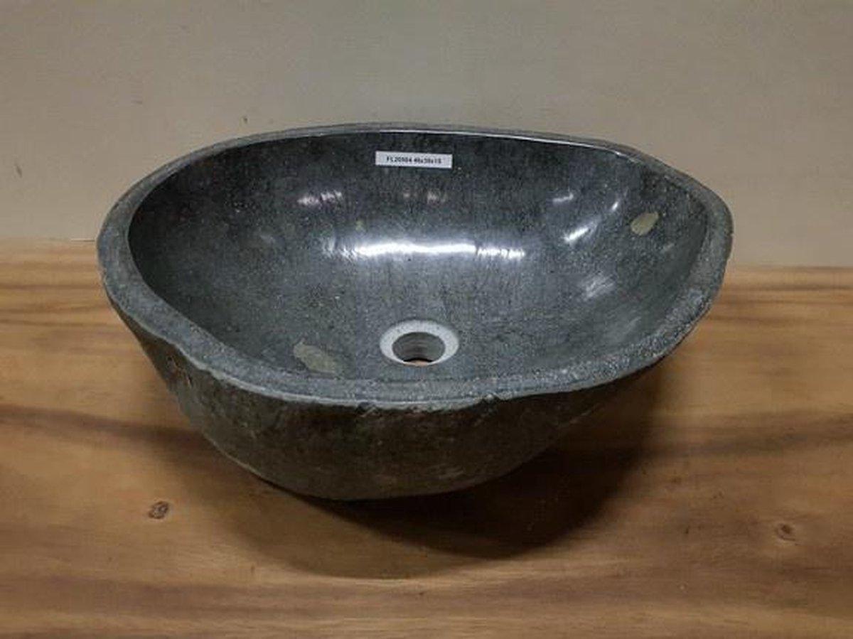 Waskom natuursteen FL20504 - 46x38x15cm