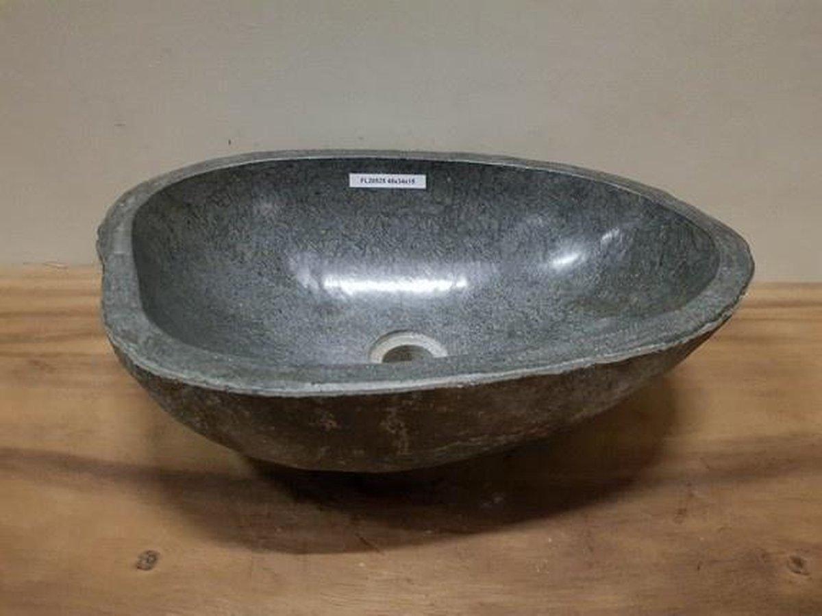 Waskom natuursteen FL20525 - 48x34x15cm