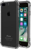 iPhone 8 Plus / 7 Plus Hoesje Transparant - Shock Proof Siliconen Case