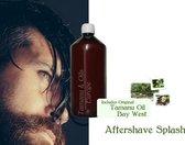 VolcanicEarth Aftershave Splash met Bay West - 1 Liter [ Luxe Afterhave Barbers zonder Alcohol ]
