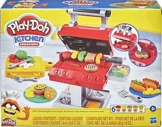 Play-Doh Super Grill Barbecue - Klei Speelset