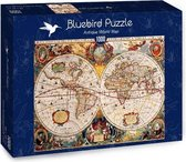 Antieke Wereldkaart - 1000 stukjes