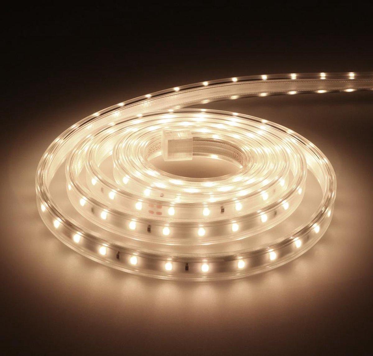 Dimbare LED Strip 2m 4000K 60 LEDs/m IP65 Plug & Play - Flex60 Series