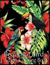 Beautiful Birds Adult Coloring Book