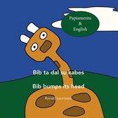 Bib ta dal su kabes - Bib bumps its head