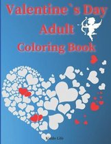 Valentine`s Day Adult Coloring Book