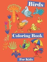 Birds Coloring Book for Kids