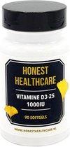 HONEST HEALTHCARE VITAMINE D3 25 1000iu
