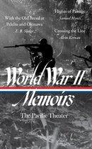Boek cover World War II Memoirs: The Pacific Theater (LOA #351) van E. B. Sledge