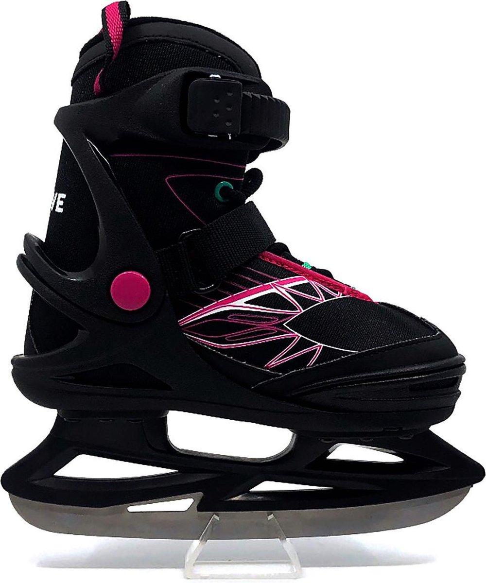 Move - Frosty ice girl - Schaatsen voor kinderen - Maat 35-38 - Roze - Verstelbare ijshockeyschaats