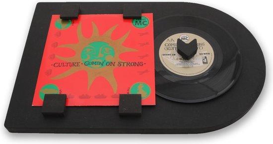 LP lijst | vinyl wissellijst | Modern zwart | Vinylplaat decoratie | Single formaat - 7 inch