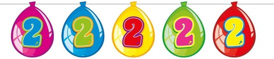 Slingers 2 Jaar Ballonnen 10m