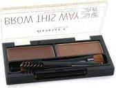 Rimmel Brow This Way Eyebrow Kit - 002 Medium Brown