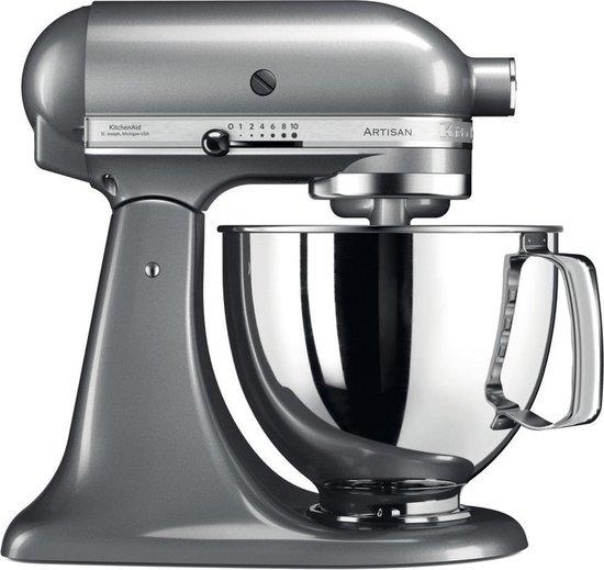 KitchenAid Artisan 5KSM125ECU contour zilver - Bol.com
