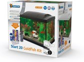 SuperFish Start 20 GoldFish Kit - Aquarium LED - Zwart - 36 x 23 x 32,1 cm - 20 L