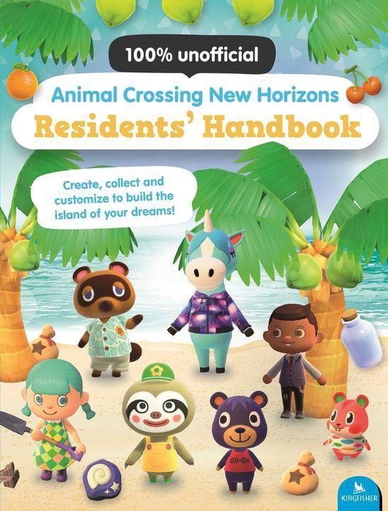 Boek cover Animal Crossing New Horizons Residents Handbook van Claire Lister (Onbekend)