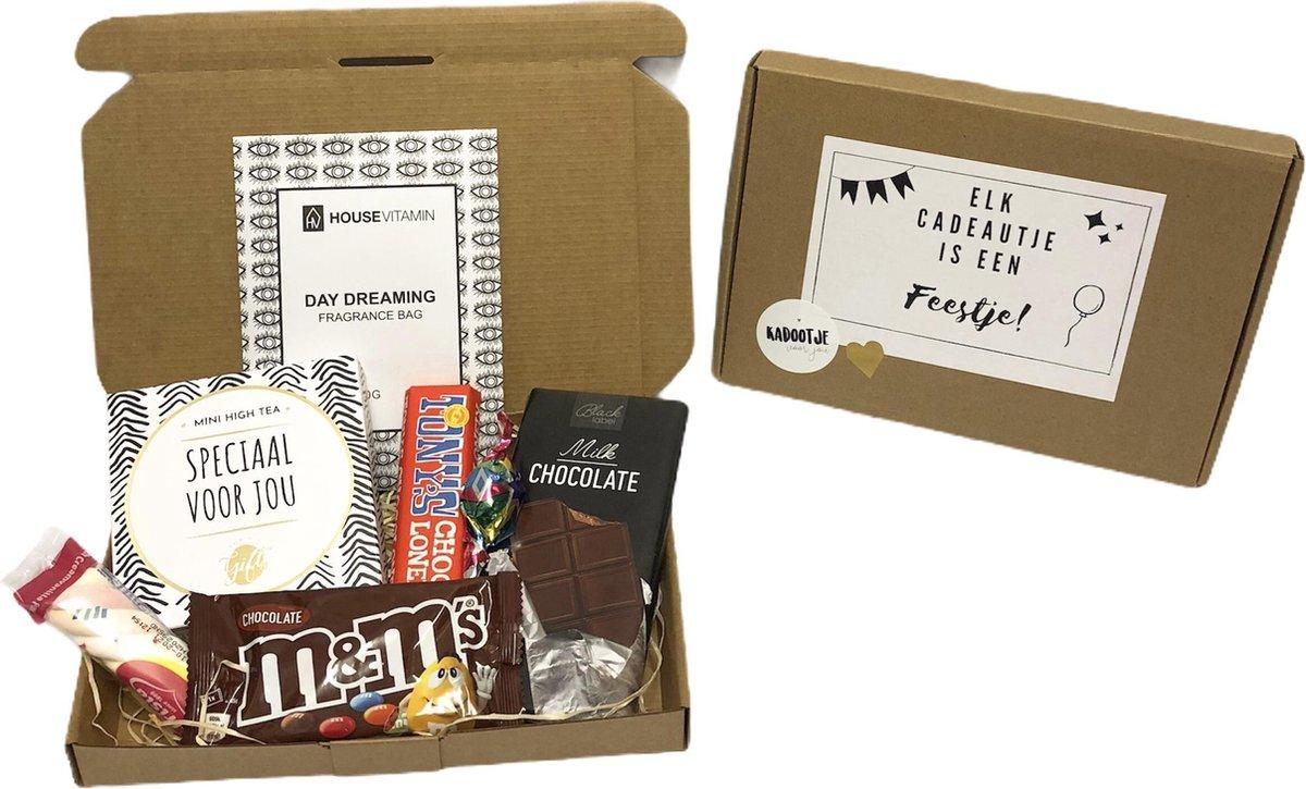 Brievenbuspakket speciaal 2 - Cadeaupakket - brievenbus cadeau - cadeau voor man - cadeau voor vrouw