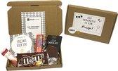 Brievenbuspakket speciaal 2 - Cadeaupakket - brievenbus cadeau - cadeau voor man - cadeau voor vrouw -  Verjaardag - tony chocolonely - Thuisblijvertjes -  Valentijn - Borrelpakket - goedkope cadeautjes - Snoep - eten - chocolade - cadeau voor vrouw