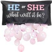 Ballon Gender Reveal Versiering Set Ballonnen Ballon   Boy or Girl | He or She | Nieuw 2021 |
