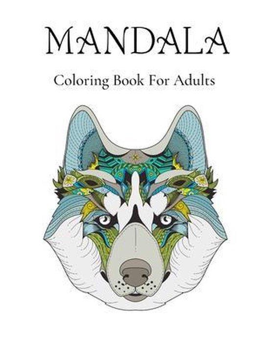 Mandalas Coloring Book For Adults