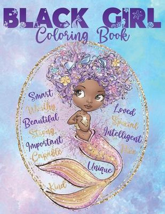 Black Girl Coloring Book