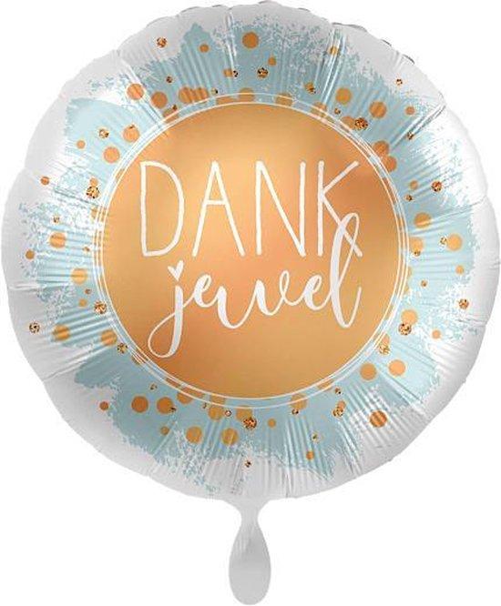 Everloon - Folieballon - Dankjewel - 43cm