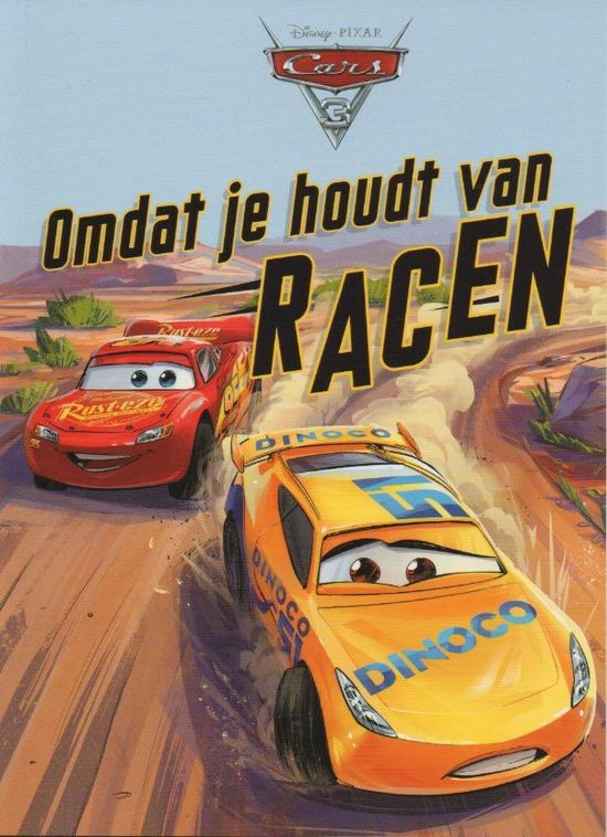Cars 3 - Omdat je houdt van racen - Voorleesboek
