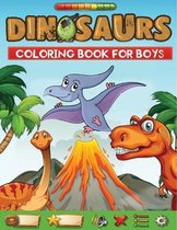dinosaurs coloring book for boys
