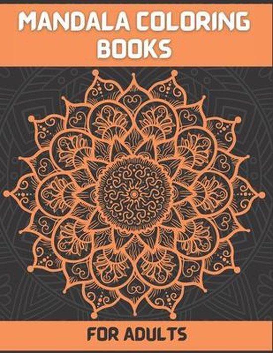 Mandala Coloring books For Adult