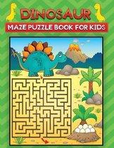 dinosaur maze puzzle book for kids