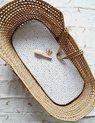 Kinderwagen hoeslaken / Mozesmand hoeslaken / Hoeslaken voor ovale matrasjes
