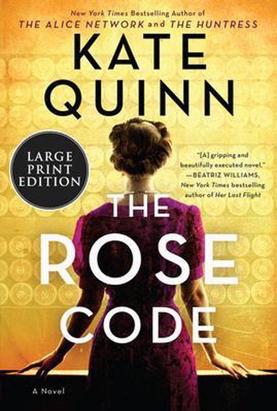 The Rose Code [Large Print]