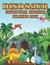 Dinosaur - Educational Dinosaur Coloring Book